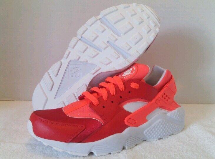 Nike Air Huarache Premium iD Red & Orange Men's Price reduction Cheap women's shoes women's shoes