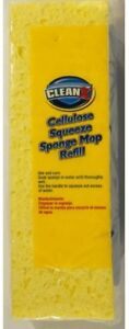 Cleanx Cellulose Squeeze Sponge Mop Refill Absorbent Easy