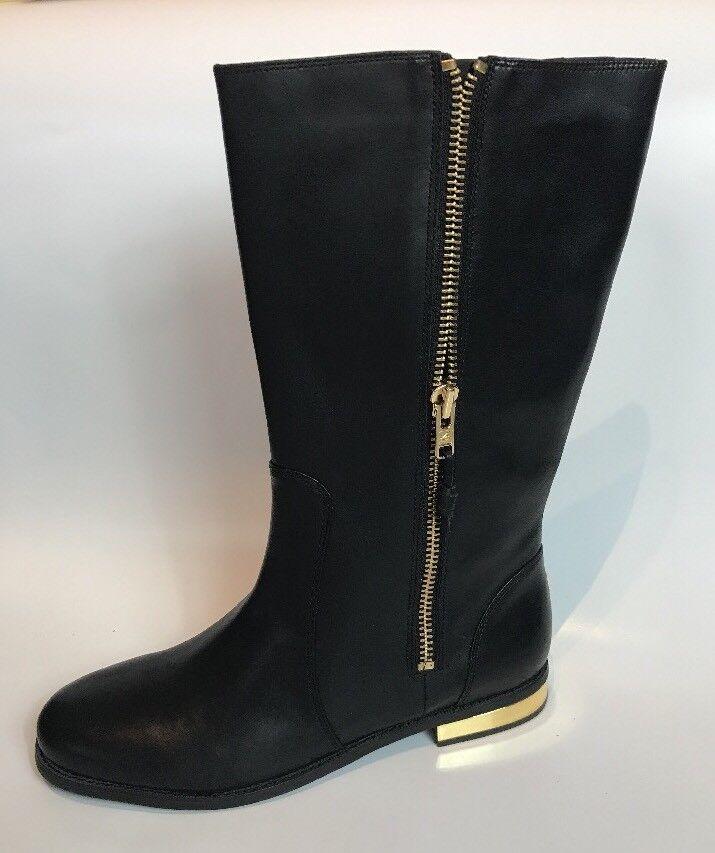 Sperry Top Sider Negro Cuero botas