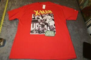 NWT HALL OF FAME Xavier McDaniel X-Man Seattle Sonics T-Shirt NBA XL GTPer NEW