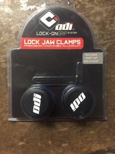 ODI Purple Lock Jaw Clamps for Mountain Bike//ATV Grips