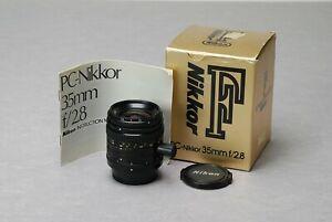 NIKON-PC-Shift-Nikkor-35mm-f-2-8-AiS-New-Improved-Version-Manual-Focus-Lens
