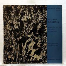 ANDRE KRUST, ROGER LEPAUW - BRAHMS viola & piano sonatas HARMONIA MUNDI LP EX+