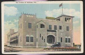 Details about Postcard HIALEAH Florida/FL Follies Jimmy Hodges Dining  Dancing 1920's