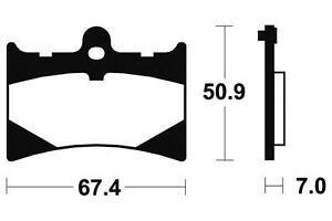 SéRieux Aprilia Af-1 Europa, Futura - Kit Plaquettes De Frein Avant - Bendix - 381010 Finement Traité