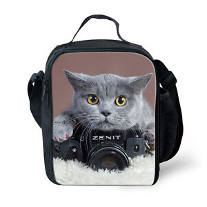Teens-Thermal-Insulated-Lunchbox-Carry-Tote-Picnic-Cooler-Bag-Kid-Back-to-School