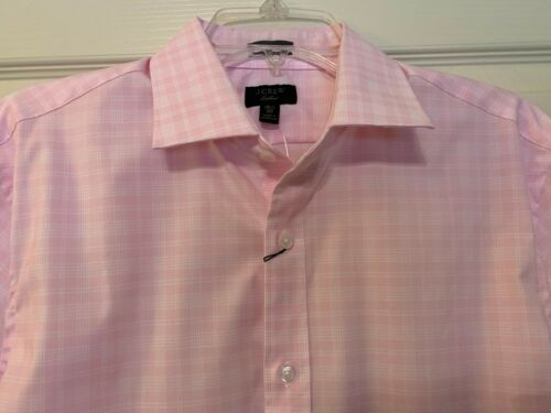 Details about  /NWT MSRP $69.50 J CREW PINK L//S SHIRT CLASSIC AND SLIM FIT