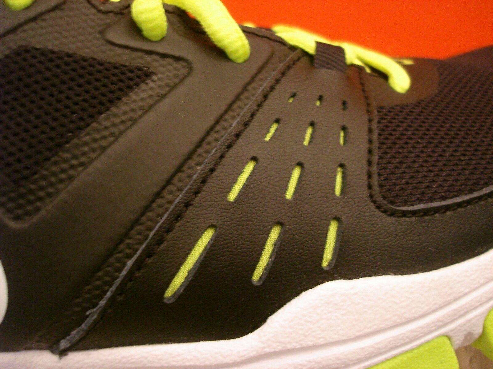 NEW WB MEN'S NIKE AIRONE ATHLETIC TENNIS TENNIS TENNIS SHOE BLACK WHITE VOLT 631276  8,8.5,10 f60116