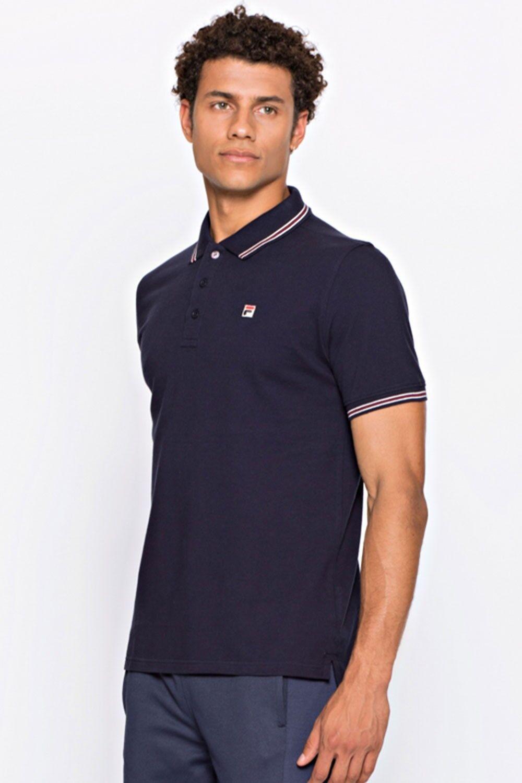 2017 FILA VINTAGE Macho 4 Polo Shirt in colour Navy
