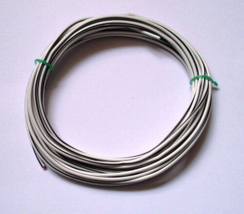 flry galon tubería un//dos colores 10m 15m 20m 25m 0,44 €//m Cable para coche 1mm²