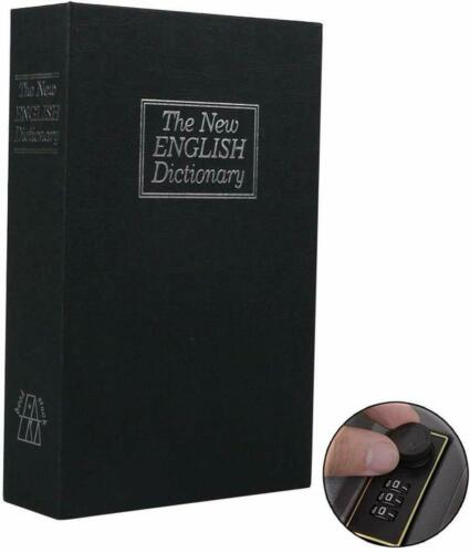 Ohuhu Book Safe with Combination Lock New English Dictionary