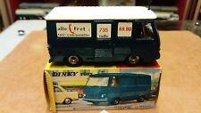 dinky toys fourgon peugeot j7 allo fret en boite origine et notice .no atlas