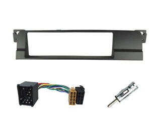 1-Din-Radio-Stereo-Facia-Fascia-for-BMW-E46-Adaptor-Plate-Panel-Fitting-Kit