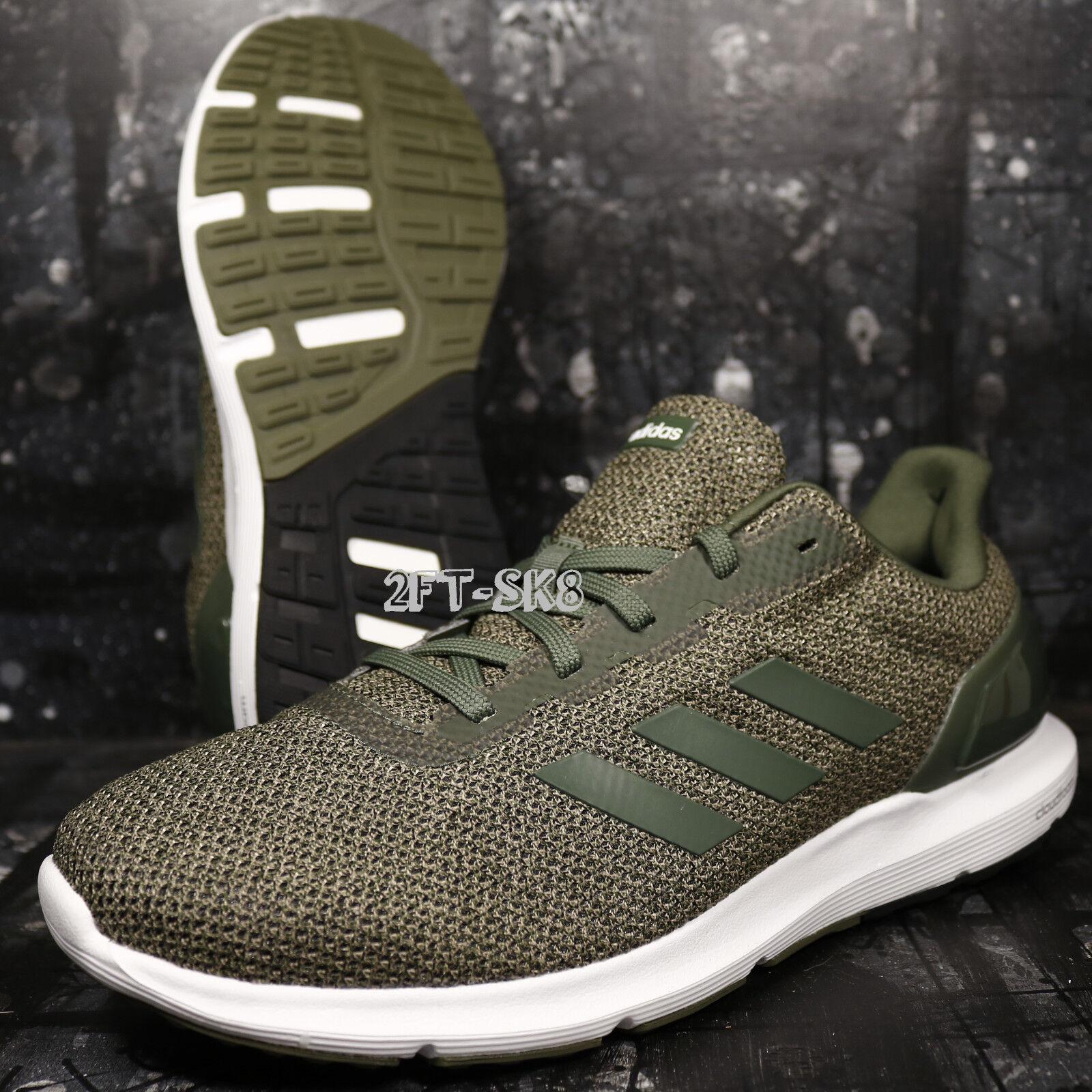 ADIDAS COSMIC 2 Blanc Vert Homme Running Baskets Chaussures S8922.155