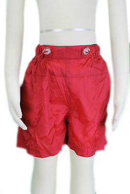 JACADI Girl/'s Latuc White and Red Stripped Jersey Shorts Size 8 Years NWT $34
