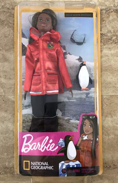 Brand New In Box Barbie National Geographic Polar Marine Biologist Inspirational