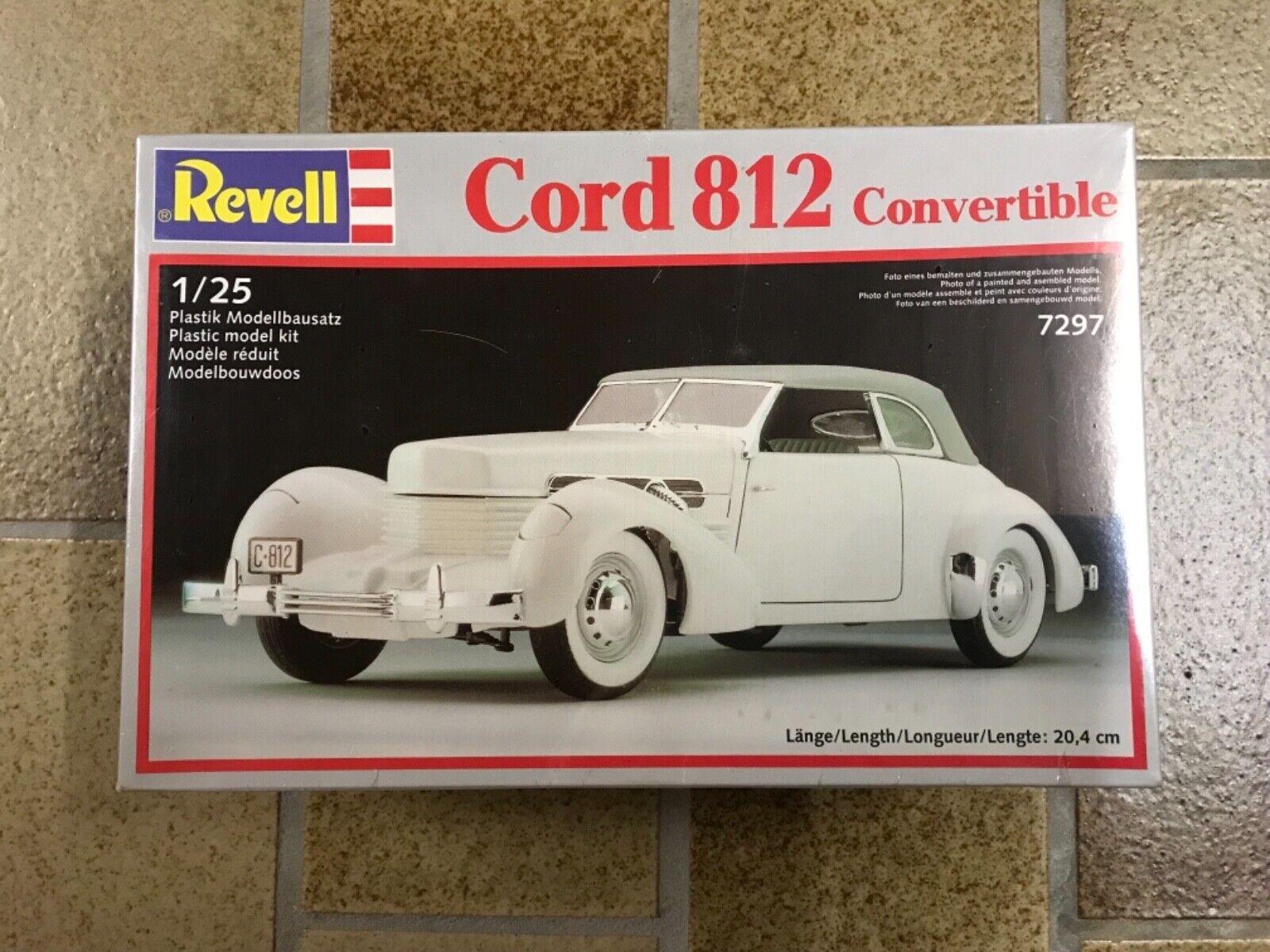Revell Cord 812 ConGrünible  1 25 Bausatz 1989 NEU OVP