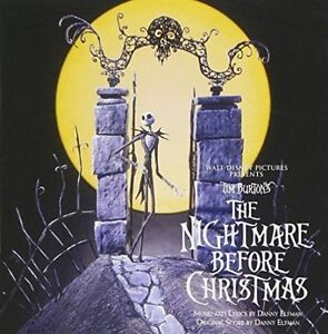the nightmare before christmas 3d cover 2 cd special edition soundtrack - Nightmare Before Christmas 3d