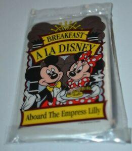 Disney-Breakfast-A-La-Disney-Aboard-The-Empress-Lilly-Button-Pin-14259-Sealed