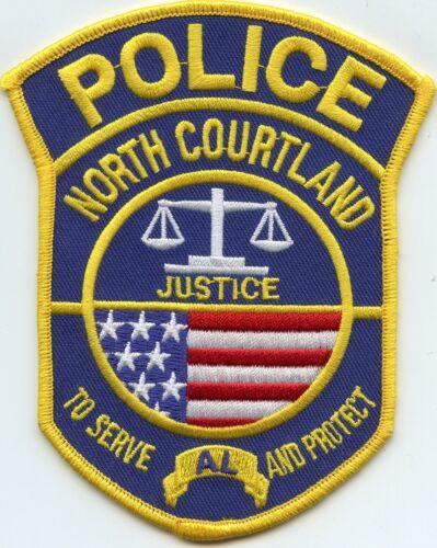 NORTH COURTLAND ALABAMA AL POLICE PATCH