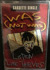 Was Not Was - Listen Like Thieves - Cassette Single - 1992