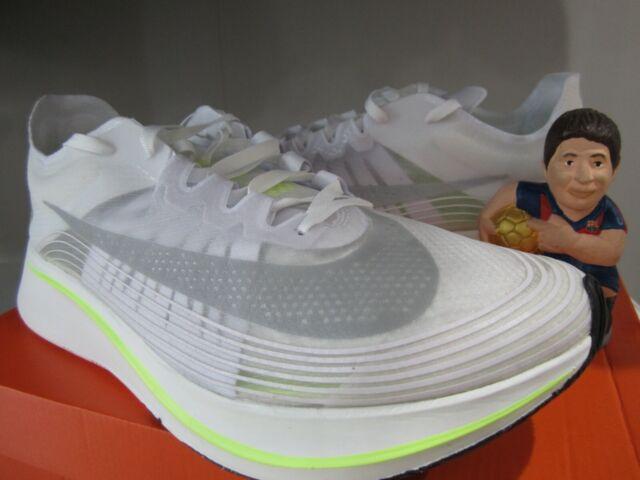 Nike Zoom Fly SP Volt Glow White Running Shoe AJ9282 107