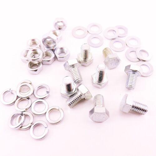 la scelta di Dadi /& Rondelle /& Pack Qtà M5 x 8 mm 8,8 HT Set VITE BULLONE BZP Pack