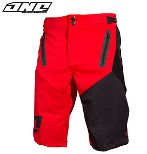 ONE INDUSTRIES ION MTB BIKE SHORTS BLACK WITH LINER cycling trail riding mens