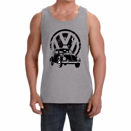 Sleeveless t-shirt  print by EPSON VW Beetle NEW Men/'s Tank Top Vest