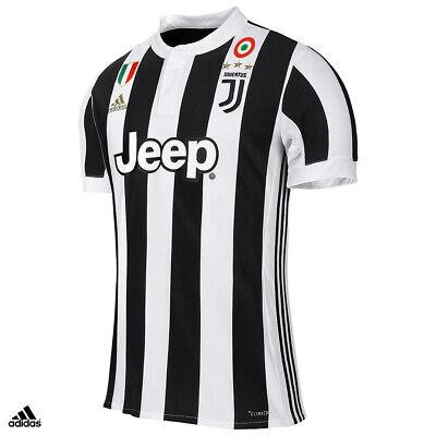 Juventus Maglia Gara Home Campionato 2017-2018 adidas Uomo   eBay