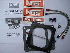 NOS/NITROUS/NX/ZEX/ BIGSHOT HOLLEY DOMINATOR PLATE KIT 175-375+HP! *NO LINES-NEW