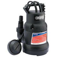 DRAPER 350W ELECTRIC SUBMERSIBLE CLEAN & DIRTY POND FOUNTAIN WATER PUMP 7M