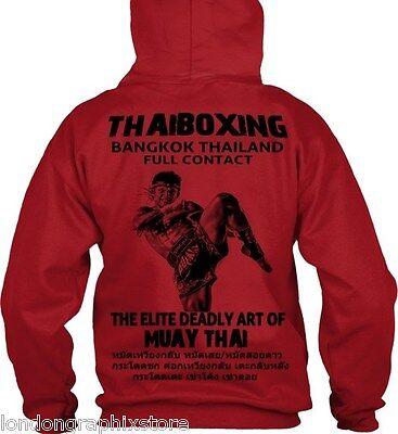 muay thai sweat shirt hoodie, full zip, thaiboxing, ufc,mma