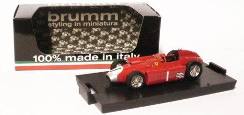 Brumm FERRARI D50 1956-J M Fangio campione del mondo scala 1/43