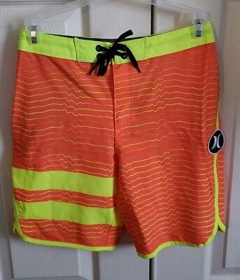 14 18 #982418 $55 Hurley Phantom 30 Block Party Board Shorts Youth Size 12