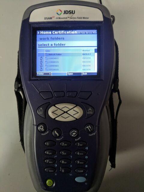 JDSU DSAM 2600 Cable Tester for sale online