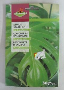 Sportif Plantania Concime In Bastoncini 30 Pz X Piante Verdi X Crescita Fioritura Nutre