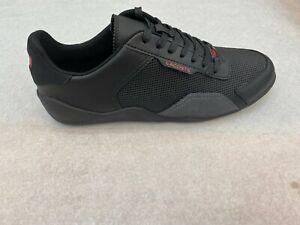 Lacoste-Men-039-s-Sneakers-Hapona-120-3-Black-Red