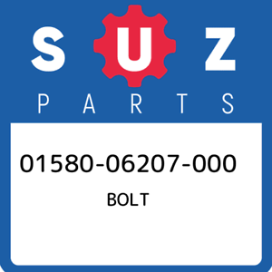 01580-06207-000-Suzuki-Bolt-0158006207000-New-Genuine-OEM-Part