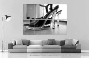 SEXY POLE TANZ Schuh- Wand Kunst Plakat groß format A0 groß Druck