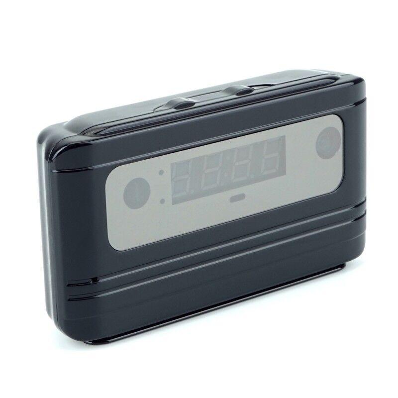 Full 720p Hd H.264 24hr Spy Clock Video Camera 140º Lens Motion Detection 5mp
