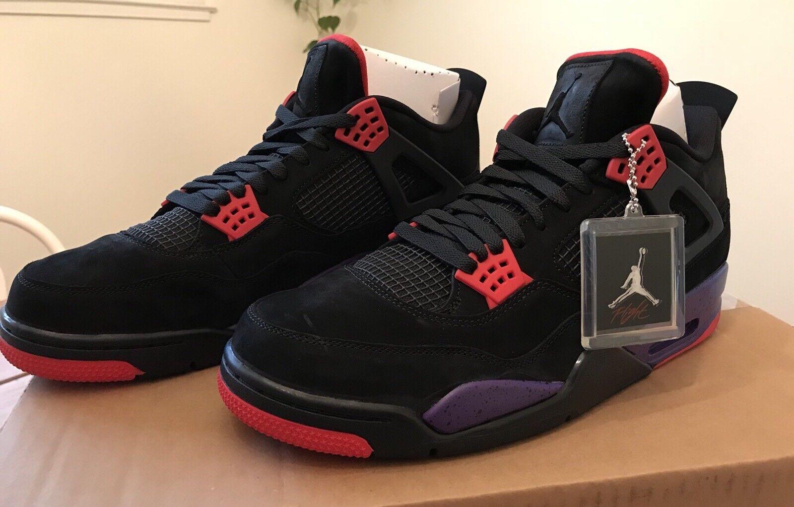 timeless design 08806 cce2e 2018 NIKE AIR JORDAN RETRO RETRO RETRO NRG Black Court Purple Size 14 Brand  NEW in