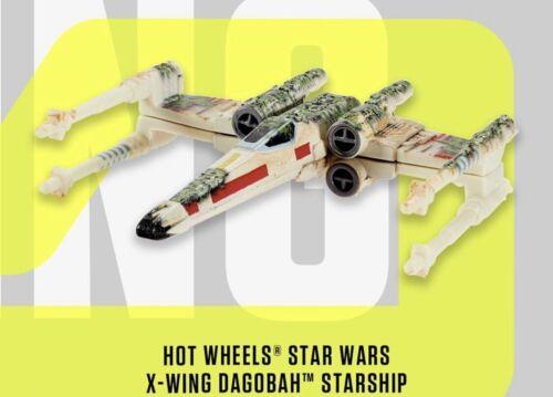 SDCC Mattel Creations Hot Wheels Star Wars X-Wing Dagobah Starship CONFIRMED