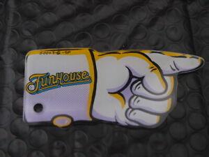 Williams Funhouse Promo plastic pinball machine key fob? hand
