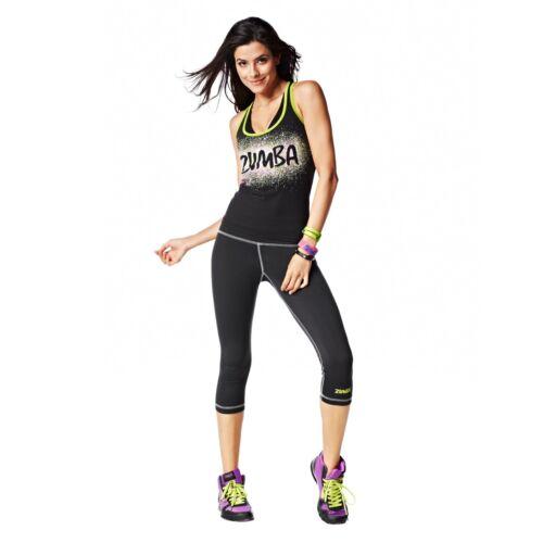 fr.Convention RARE! ZUMBA FITNESS Dance INSTRUCTOR RacerBack Top Shirt Tank Tee