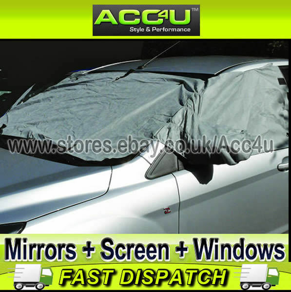 Winter Anti Frost Car Windscreen Snow Ice Cover Fits TOYOTA AYGO BLUE
