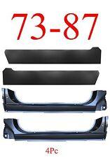 73 87 Chevy 4Pc Extended Rocker Panel & Inner Rocker Panel Set, Complete!