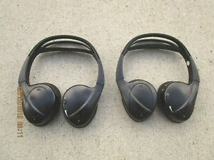 11 14 Toyota Sienna Wireless Bluetooth Headset Headphone Head Phone Set Oem Ebay