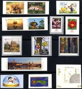 2014sk-Deutschland-2014-selbstklebende-Briefmarken-postfrisch-komplett
