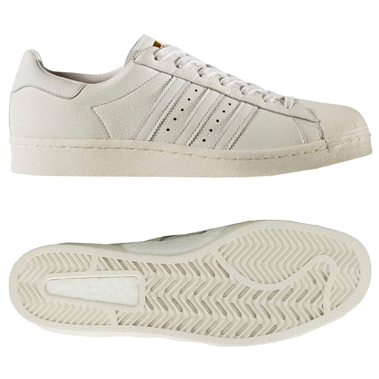 Adidas Mens Superstar Boost Sz 11 Originals Vintage White BB0187 shoes